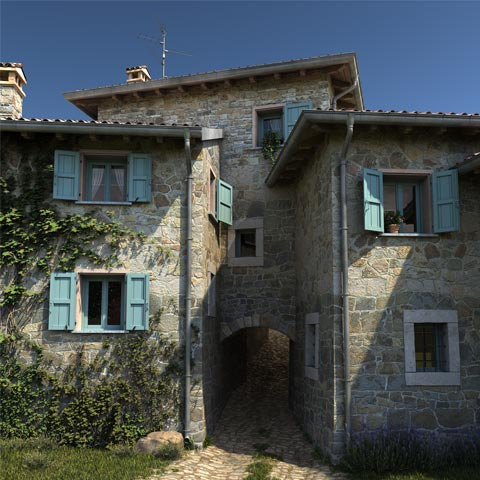 Gottano: rural compound restoration - image02